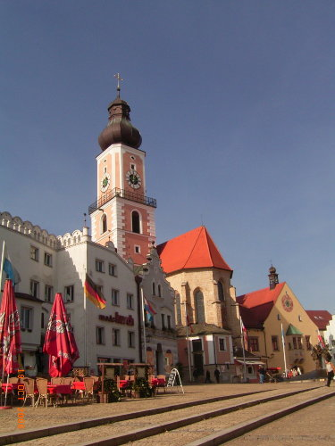 Marktplatz von Cham