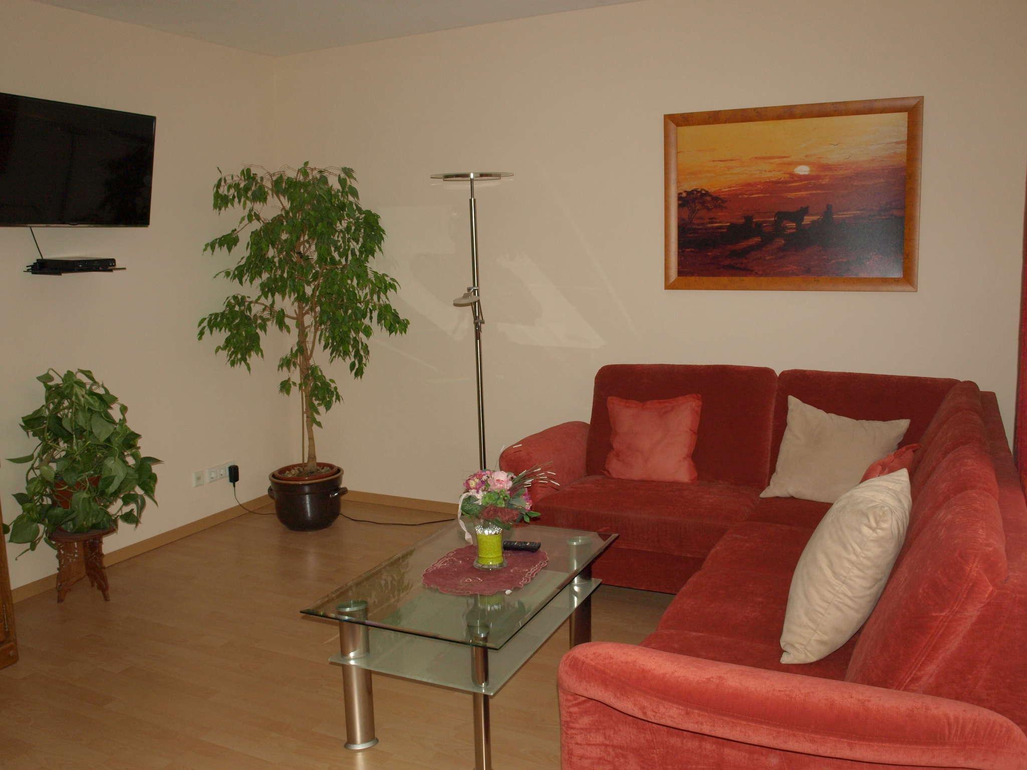 Esszimmerbereich im Wohnzimmer