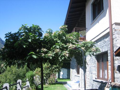 untere Terrasse und Garten