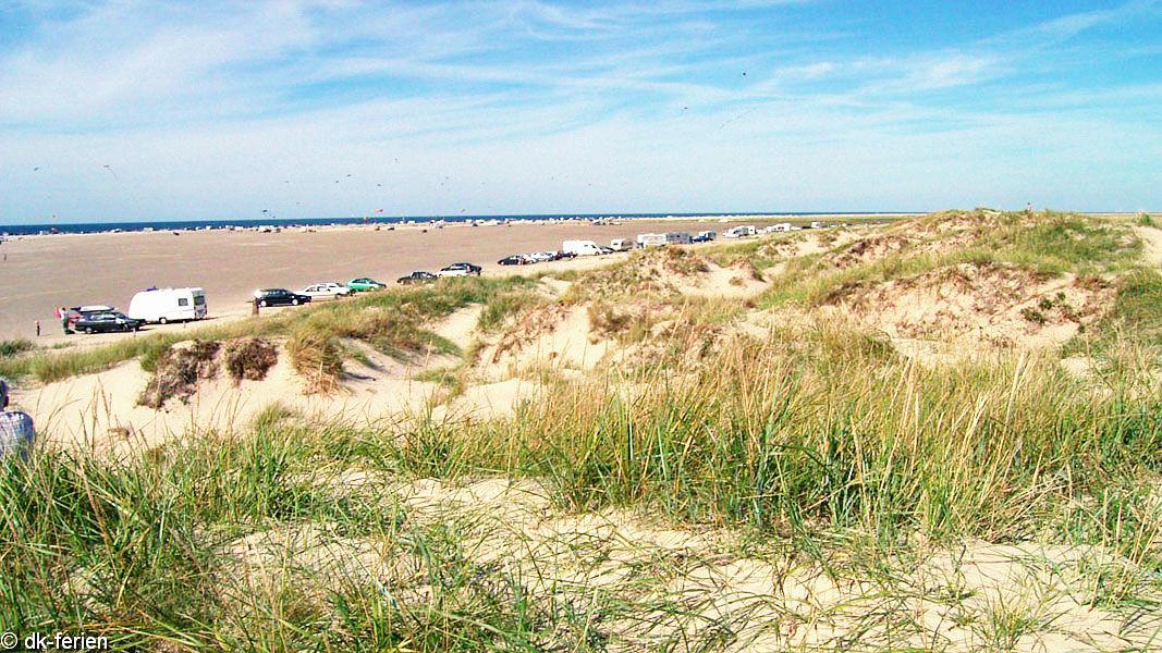 Lakolk Strand in der Nähe von Jens Hus