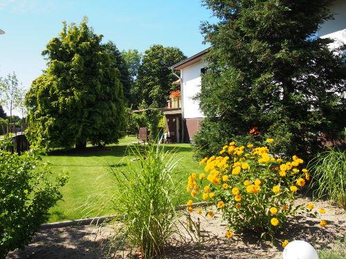 Vorgarten vom Haupthaus