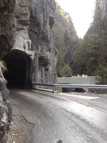 Bergstraße nach Ebnit