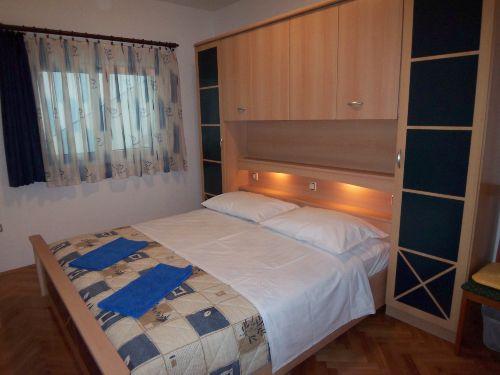 Elternschlafzimmer der Ferienwohnung