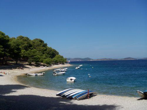 Strandidylle in Primosten - Dalmatien