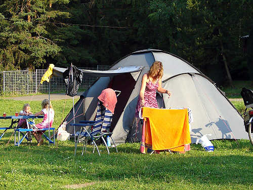Camping am Stausee Hohenfelden