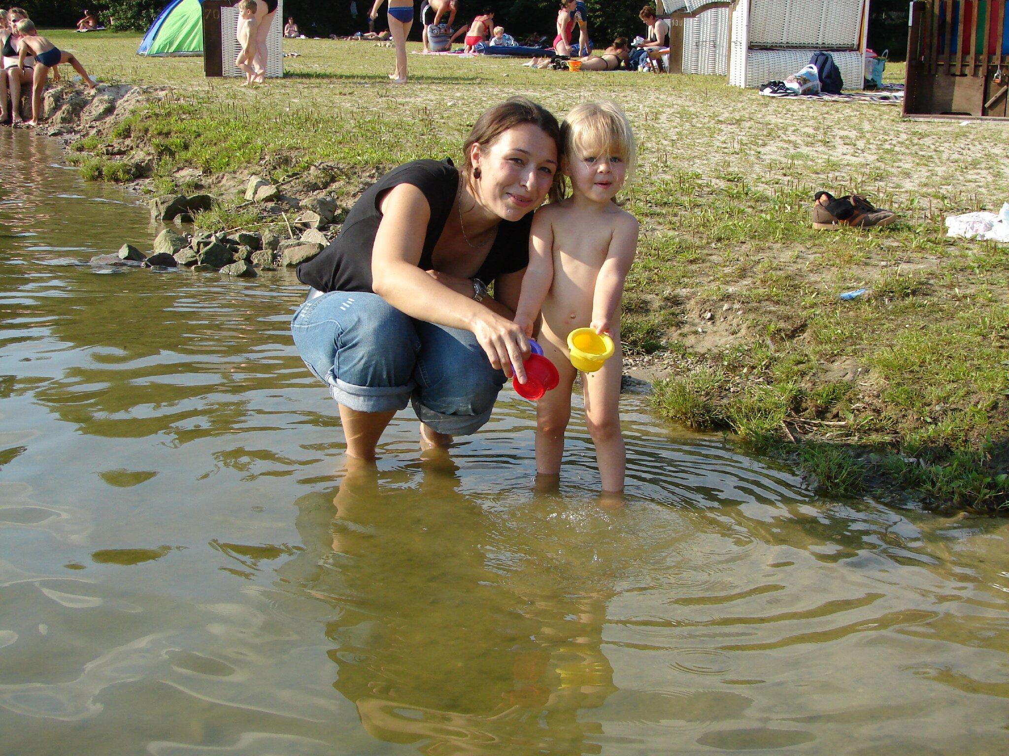Beachvolleyball am Stausee Hohenfelden
