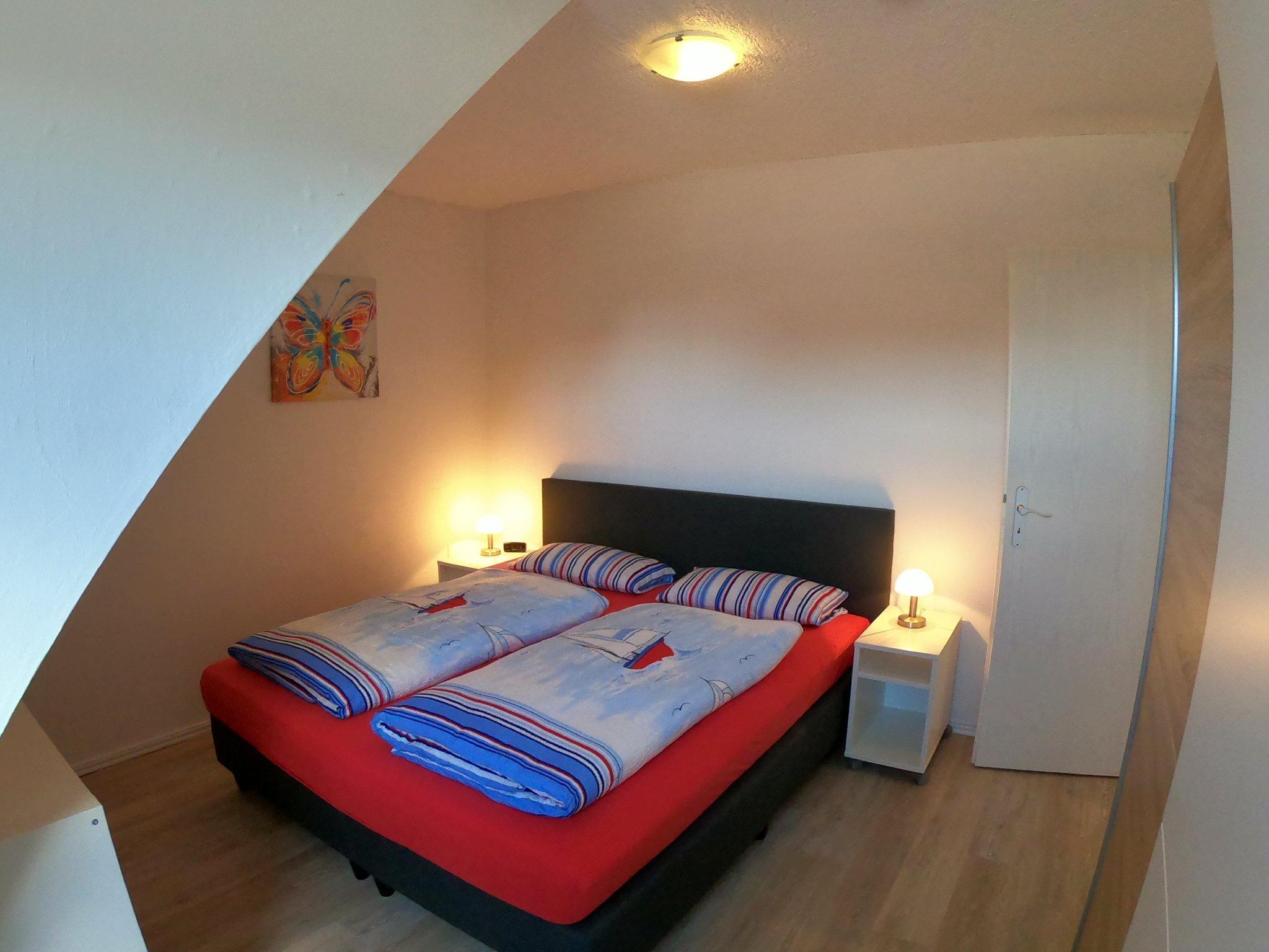 Schlafzimmer 1, Schrank, Plissees