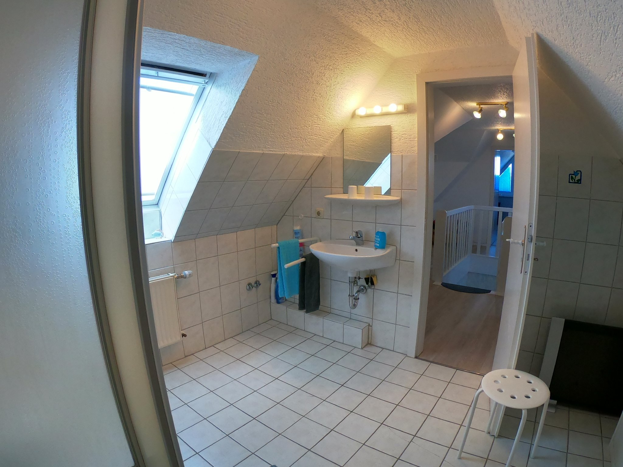 Badezimmer, Dusche, WC