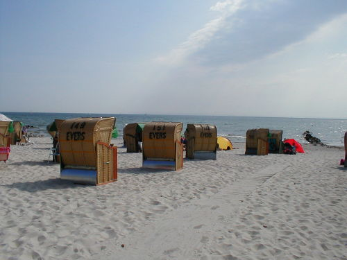 Am Strand von Gr�mitz
