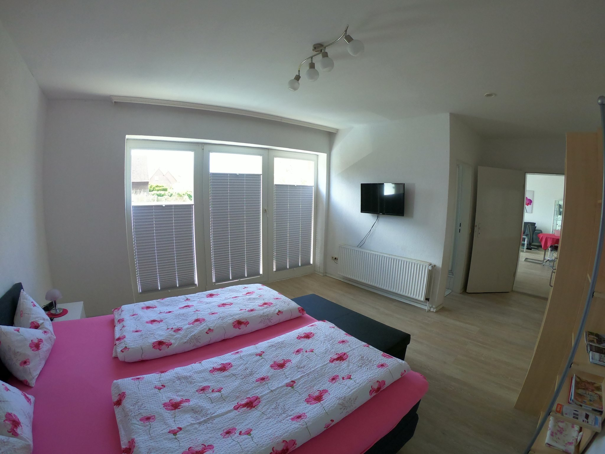 Schlafzimmer: Boxspringbett 180 x 200