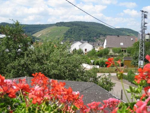 Blick zur Dorfmitte