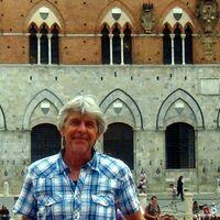 Vermieter: Gerd vor dem Palazzo Pubblico Siena