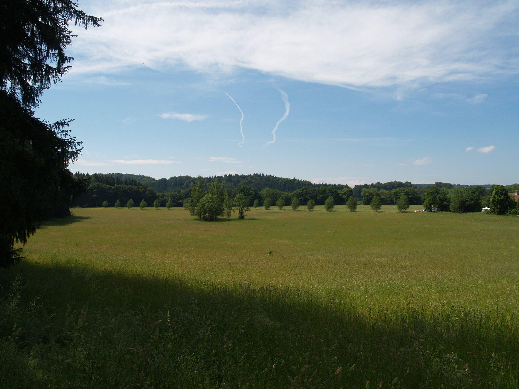 Blick auf Wasserburg am Inn