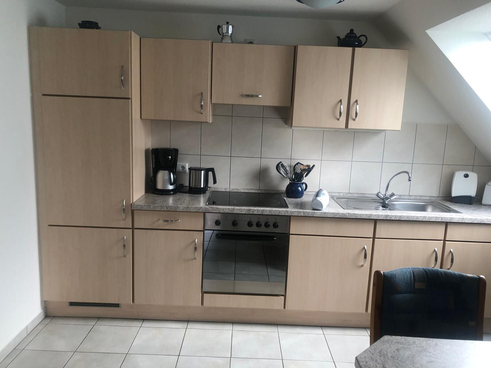Küche der Wohnung Föhr