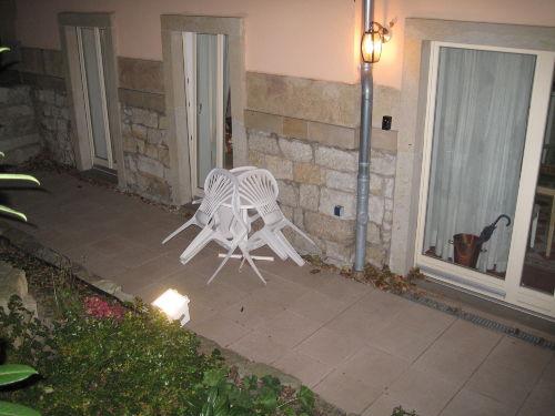 Terrasse direkt vor der Fewo