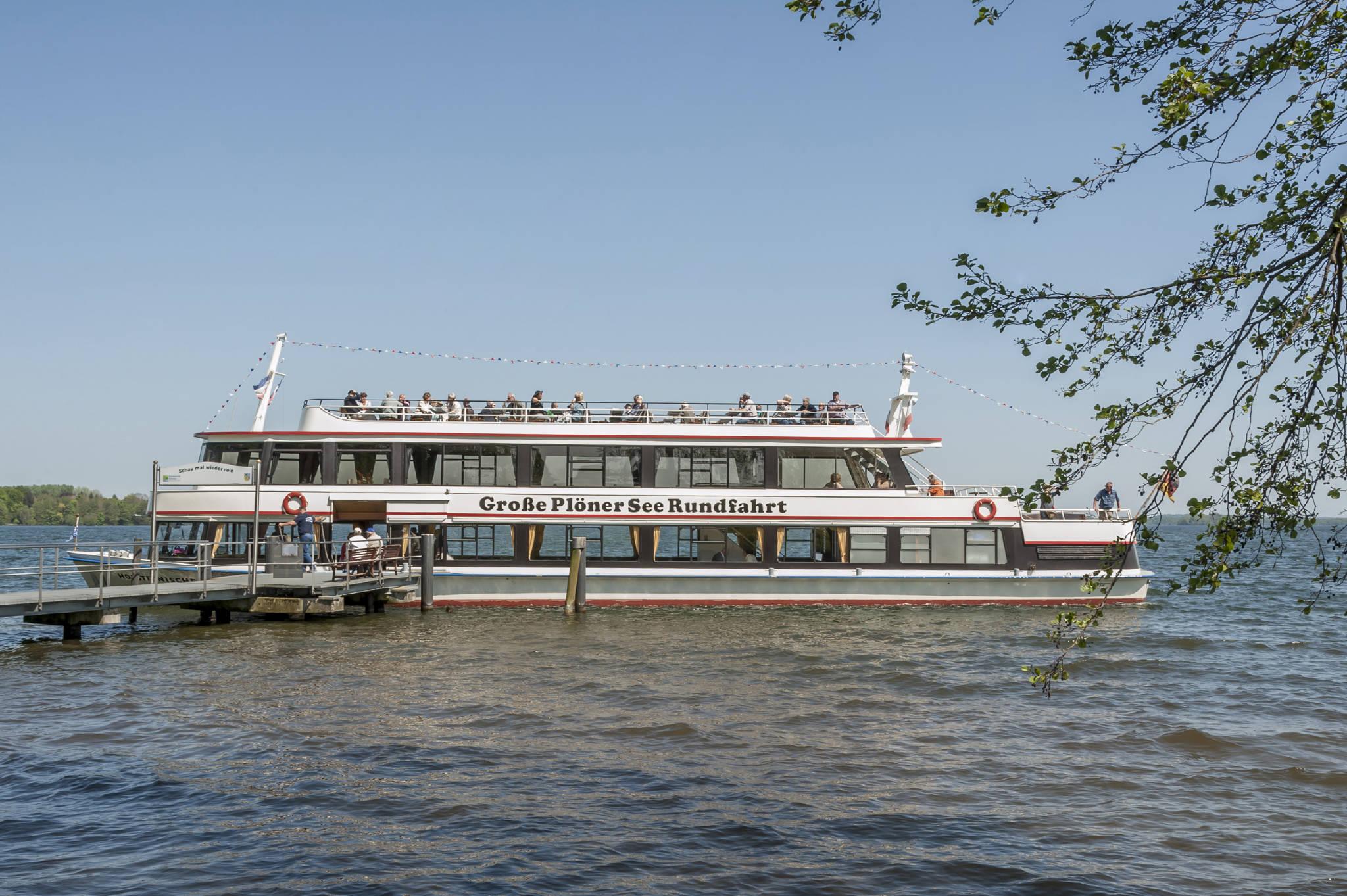 der kleine Segelhafen mit Gastplätzen