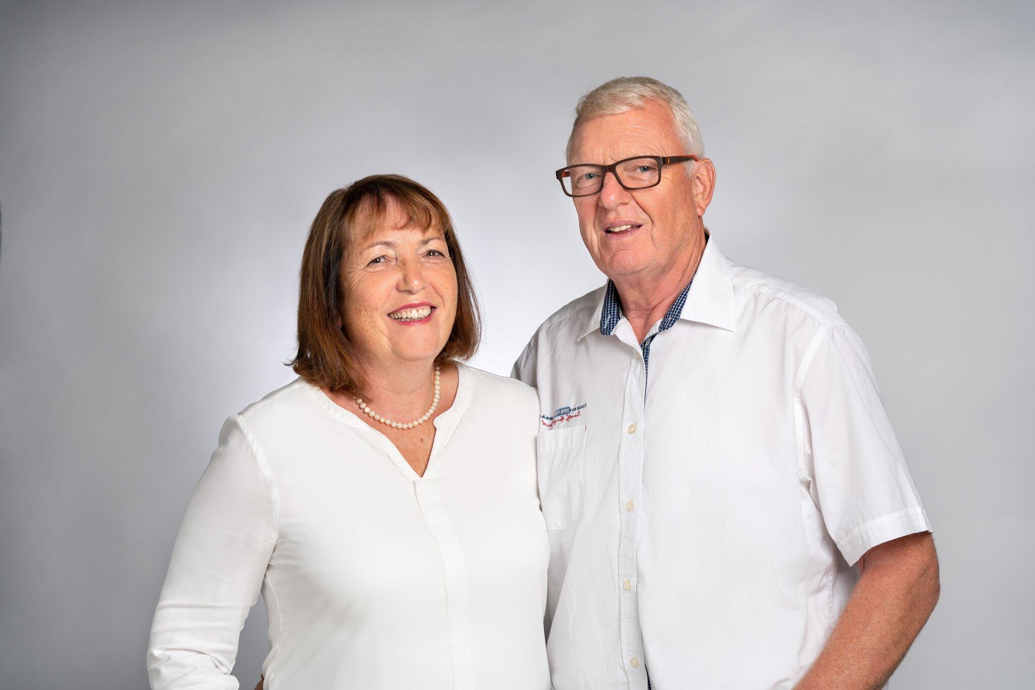 Ihre Gastgeber: Patricia und Manfred