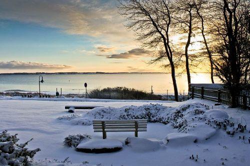 Wintermorgen in Holnis