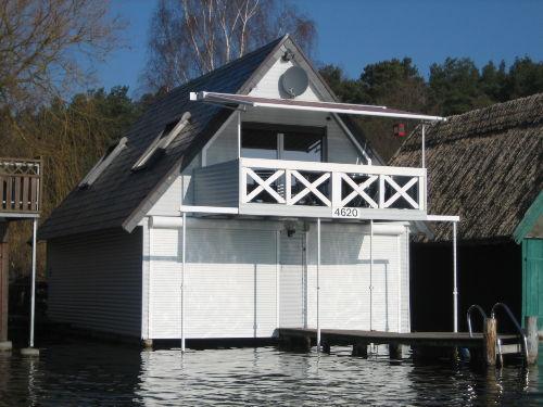 Bootshaus im Fr�hjahr