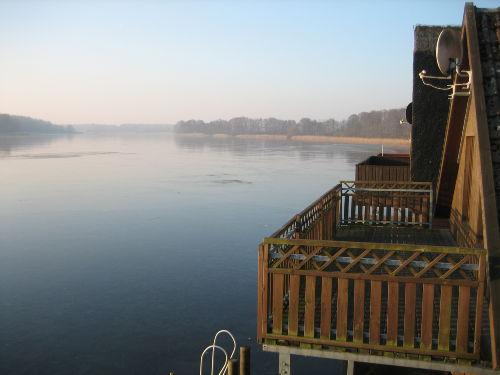 Bootshaus, Blick vom Balkon nach S�den