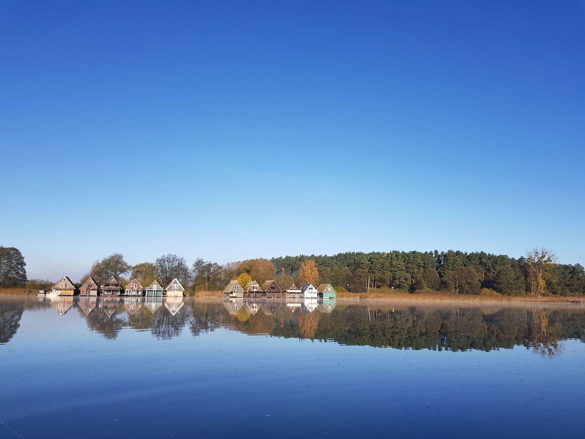 Bootshäuser von Vipperow