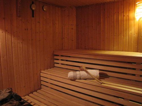 gem�tliche Sauna f�r bis zu 4 Personen