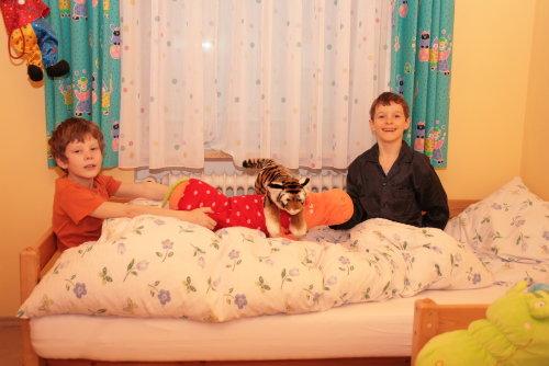 Kinderschlafzimmer, 2 Einzelbetten