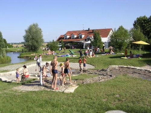 Wasserspielplatz am Silbersee 3 km