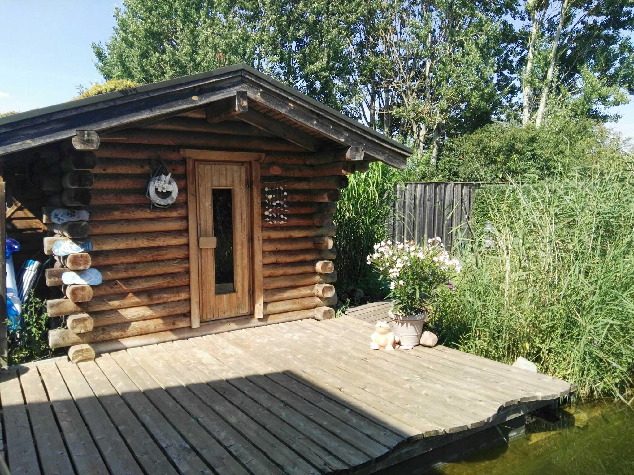 das Haus der Entspannung - die Sauna