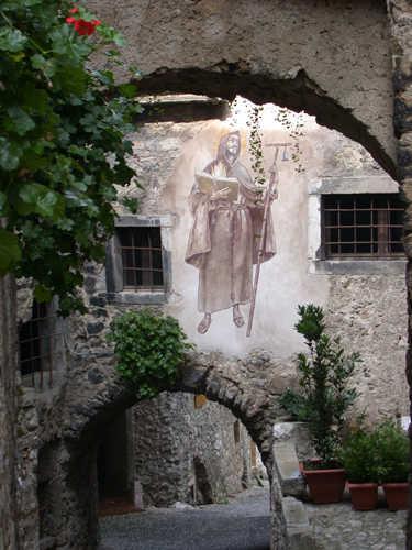 Das nahe gelegene Künstlerdorf Canale