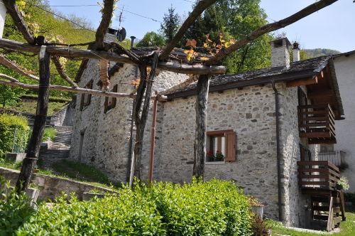 Die Rückseite von Villa Rita