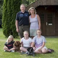 Vermieter: Unsere kleine Familie zu Ostern 2013