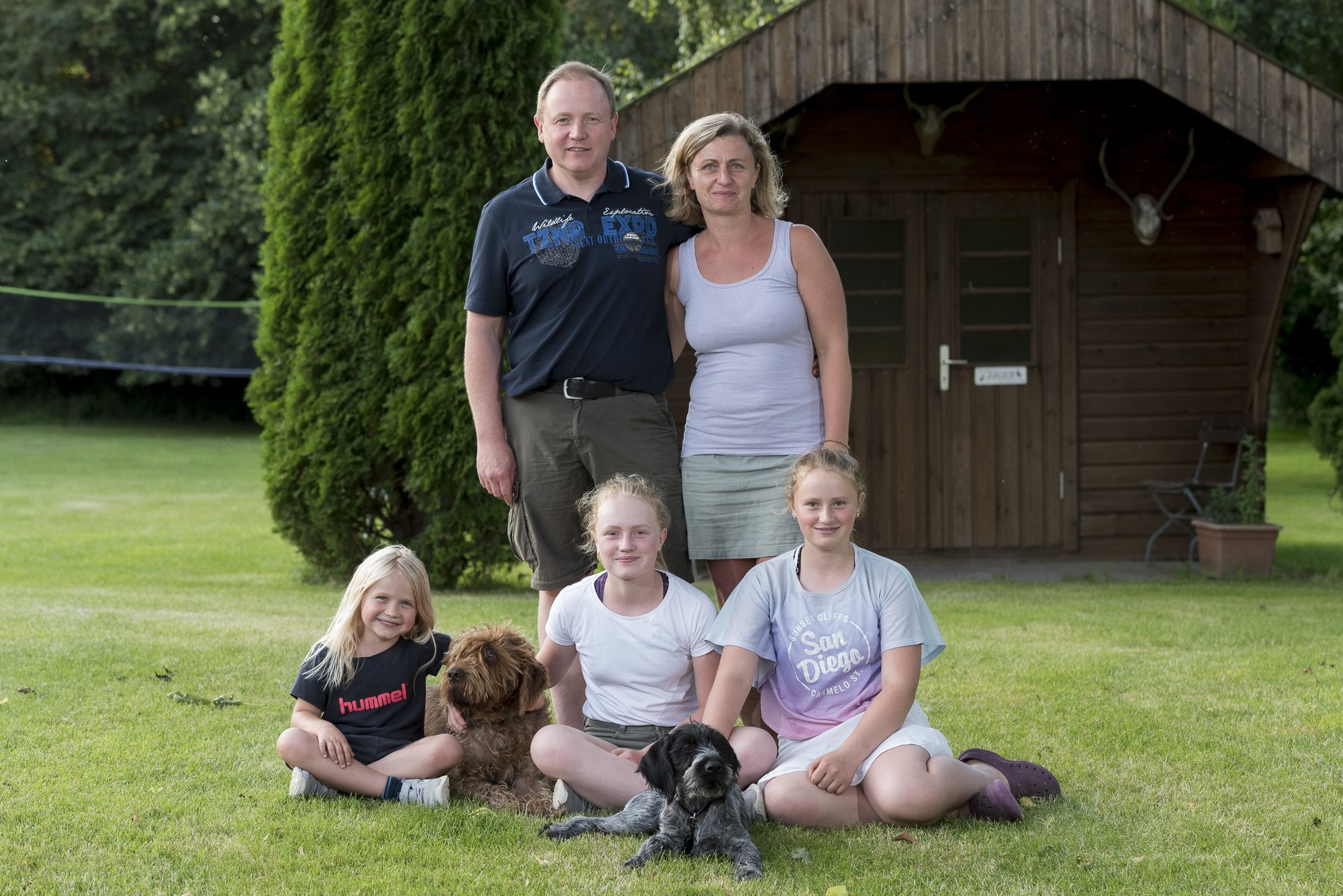 Unsere kleine Familie zu Ostern 2013