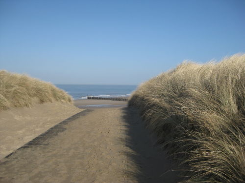 wunderschöner Strand direkt um die Ecke