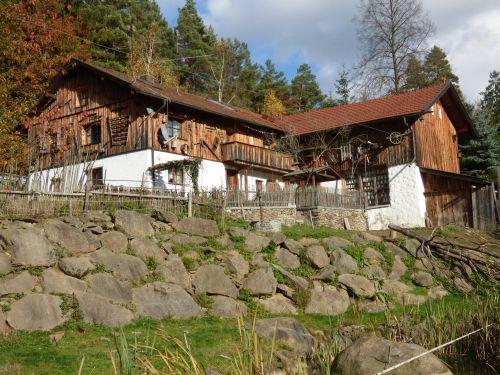 Lage der Hütte - Ansicht von unten