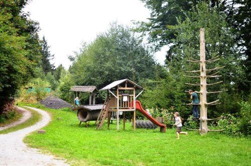 Kinderspielplatz auf dem Feriengelände