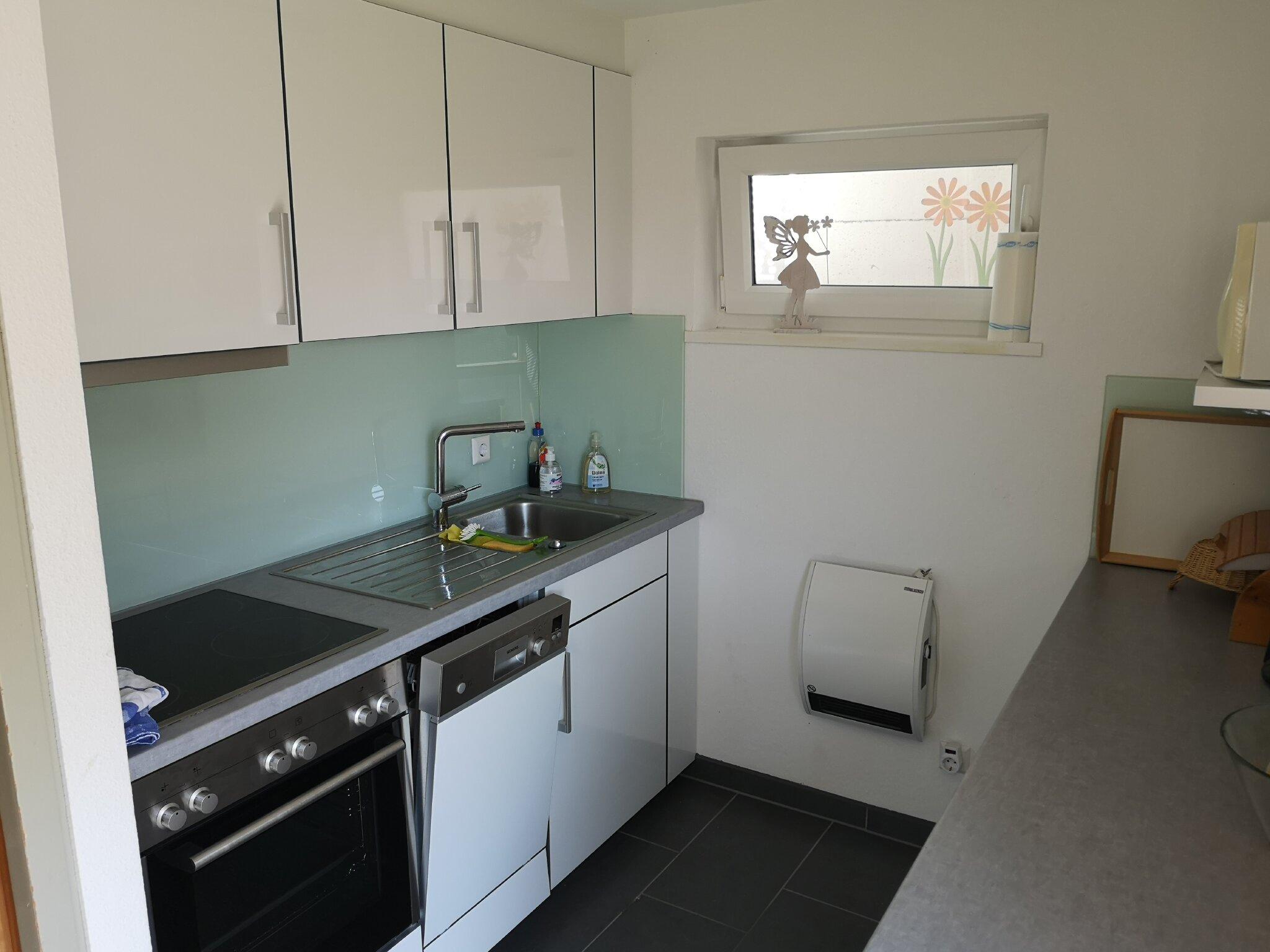 Küche der Terrassenwohnung