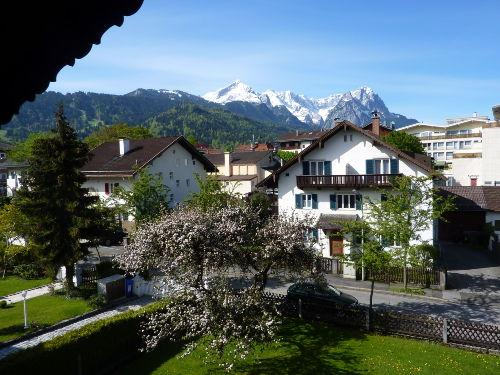 Blick von Ferienwohnung 2 Balkon