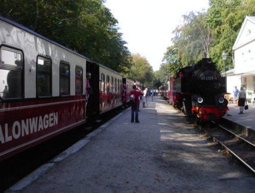 Molli Bahnhof Heiligendamm