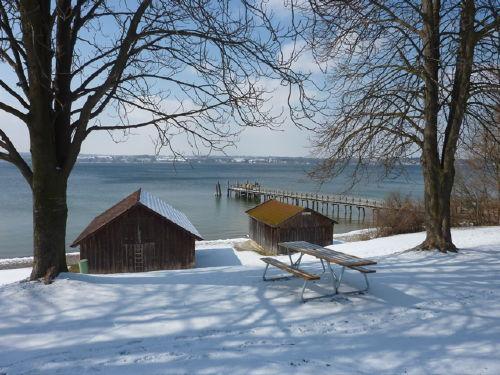 Winterimpressionen am Dampfersteg