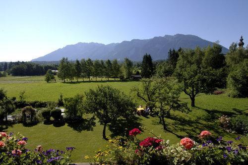 Blick vom Balkon ins Alpenvorland