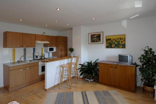 Küche und Essecke - Wohnbeispiel