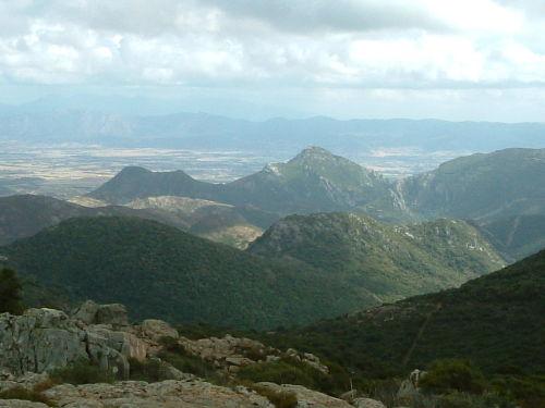 Berge hinter Domusnovas