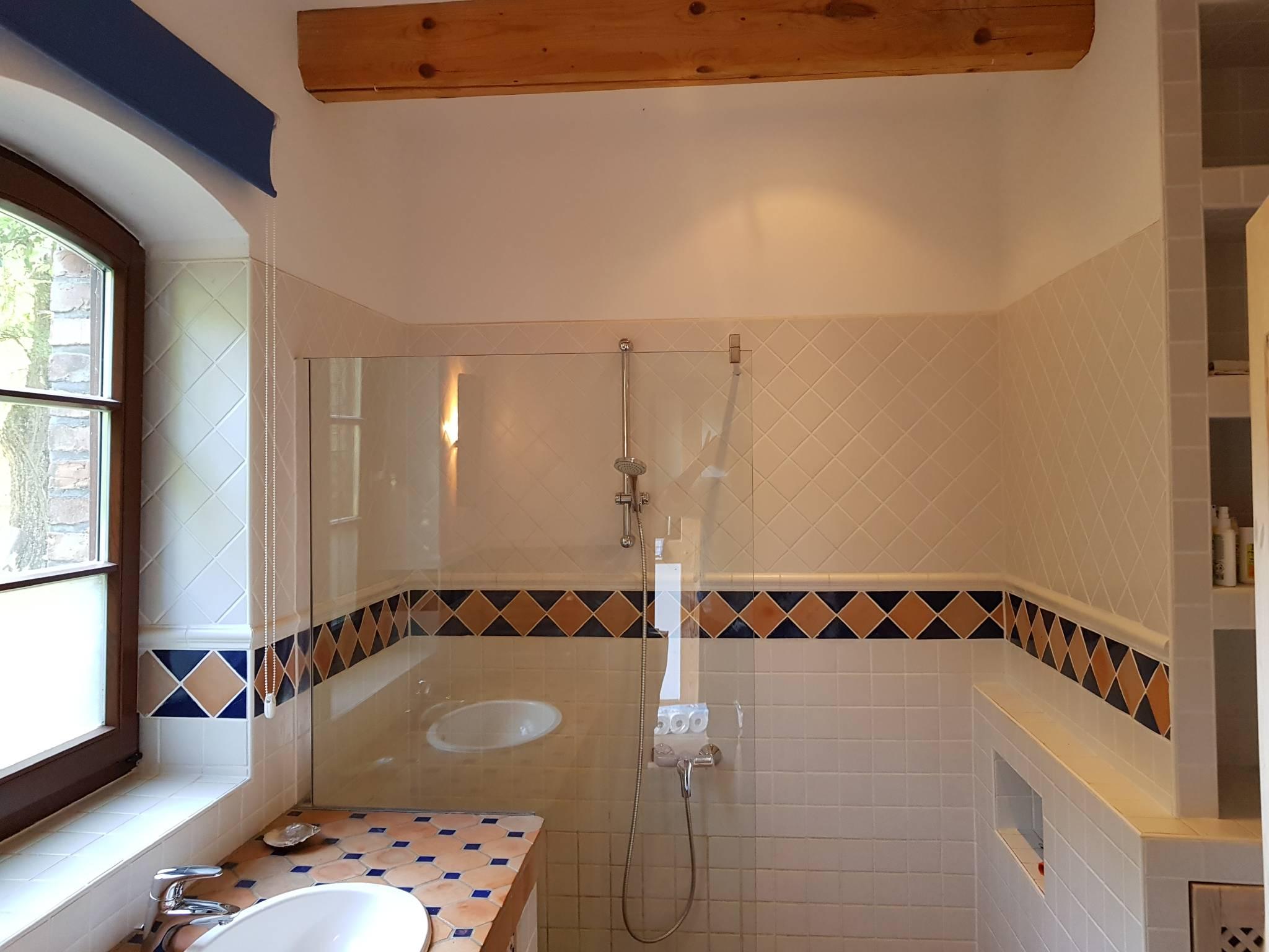 Badezimmer Ferienhaus, Handtücher inkl.