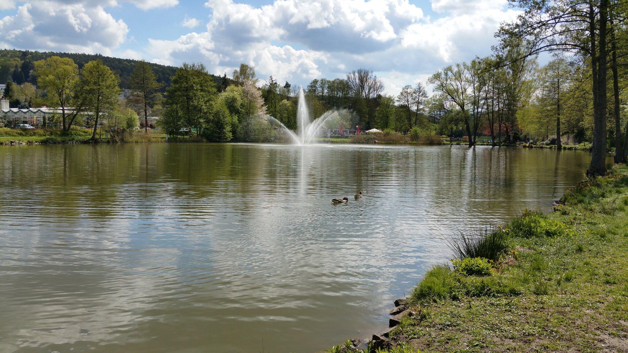 Seenanlage Kurpark Bad König