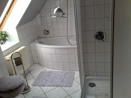 Badezimmer/WC mit Nordfenster