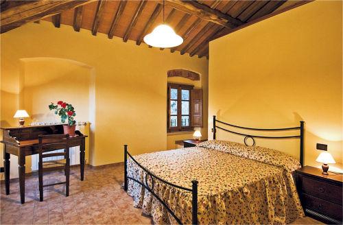 Schlafzimmer der Ferienwohnung NELLO
