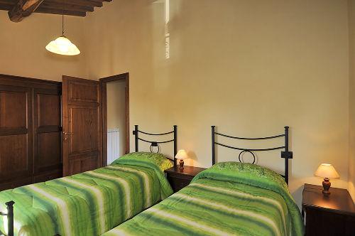 Schlafzimmer 2 der Ferienwohnung NELLO