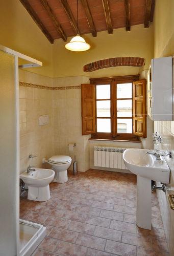Badezimmer der Ferienwohnung NELLO