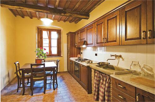 Wohnküche der Ferienwohnung GUIDO